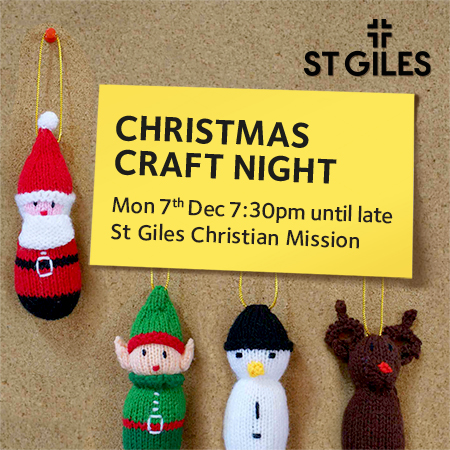 Christmas Craft Night